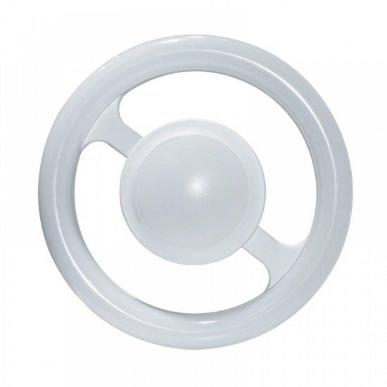 LED тяло Double round основа Fix+E27 16W+4W 4000K