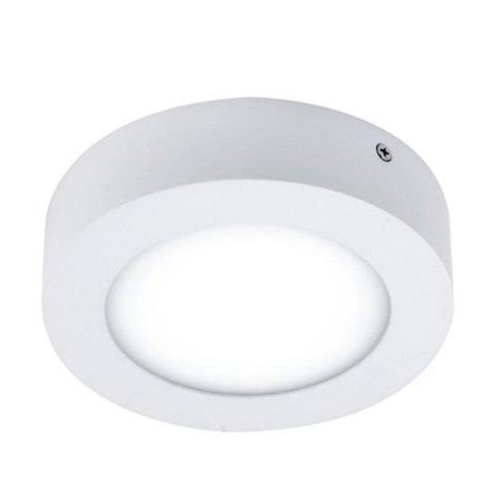 LED Панел 18W 220V кръг 6400K бял Ф21см 1300Lm открит монтаж