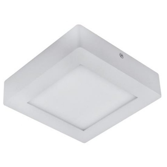 LED Панел 12W 220V квадрат 4200K бял 16x16см 840Lm открит монтаж