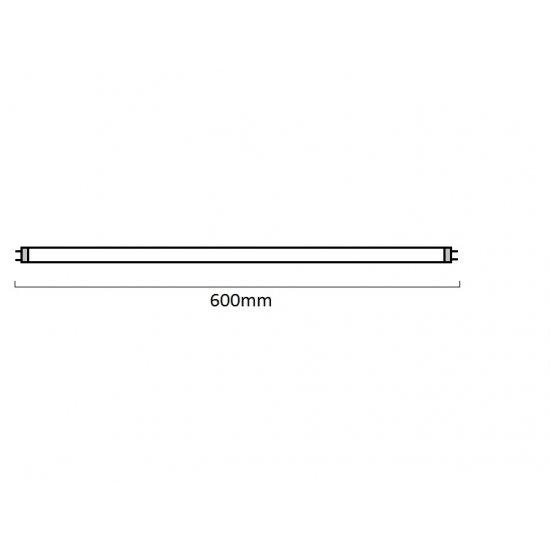 LED пура Т8 9W 6500K 900Lm IP20 60см двустранно захранване