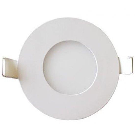 LED Панел 3W SMD SLIM Кръг Ф70мм 2700K