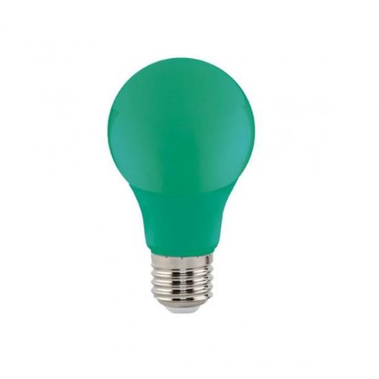 LED крушка SPECTRA зелена 3W E27 205Lm