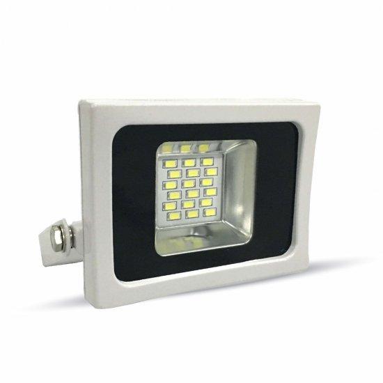LED Прожектор SMD 10W Бяло Тяло 6000K IP65