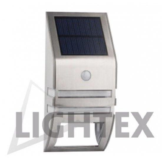 LED SMD Соларен Аплик със сензор 0.60W 6000K IP65