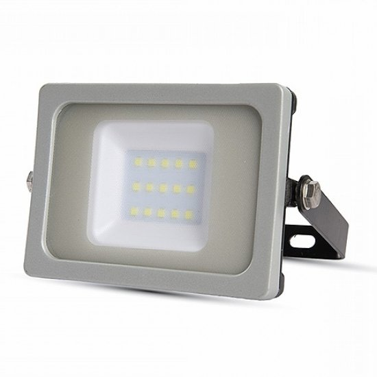 10W LED Прожектор SMD Черно/Сиво Тяло 4500K