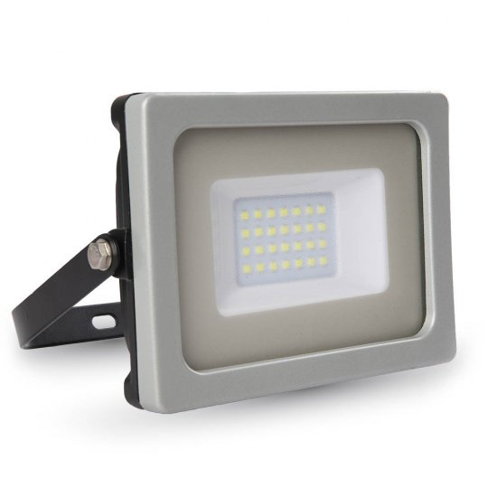 20W LED Прожектор SMD Черно/Сиво Тяло 3000K