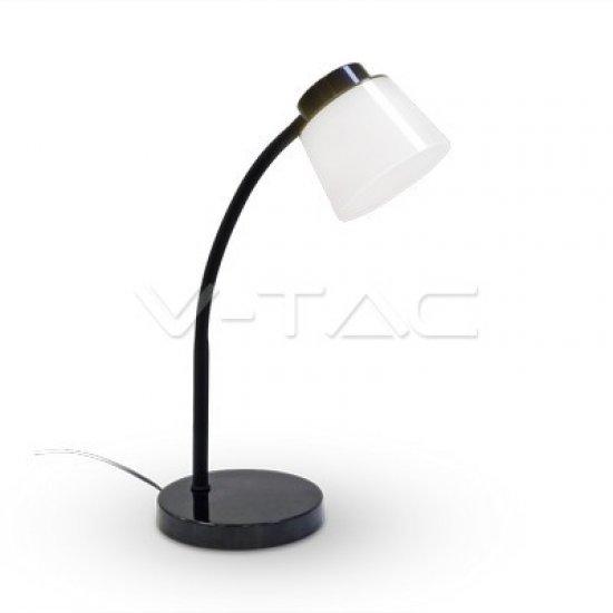 5W LED Настолна Лампа 4000K Черно Тяло