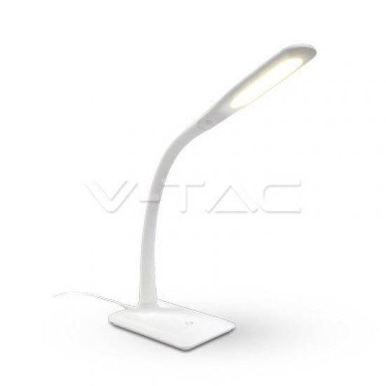 7W LED Настолна Лампа 4000K Бяло Тяло