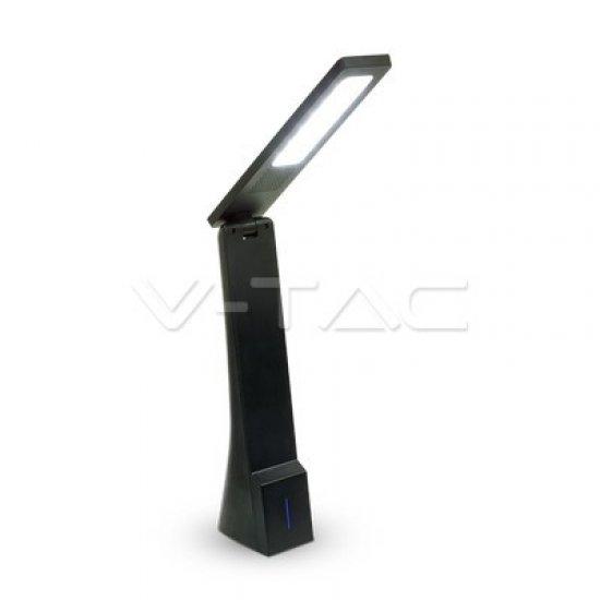 4W LED Настолна Лампа Черна