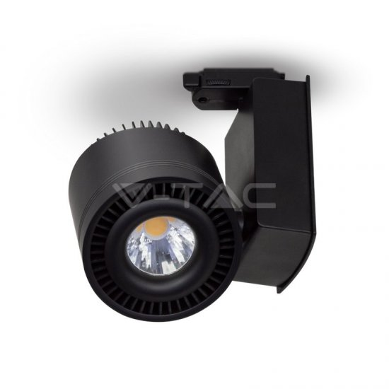 45W LED COB CRI>95 Прожектор Релсов Монтаж Черно Тяло 3000K