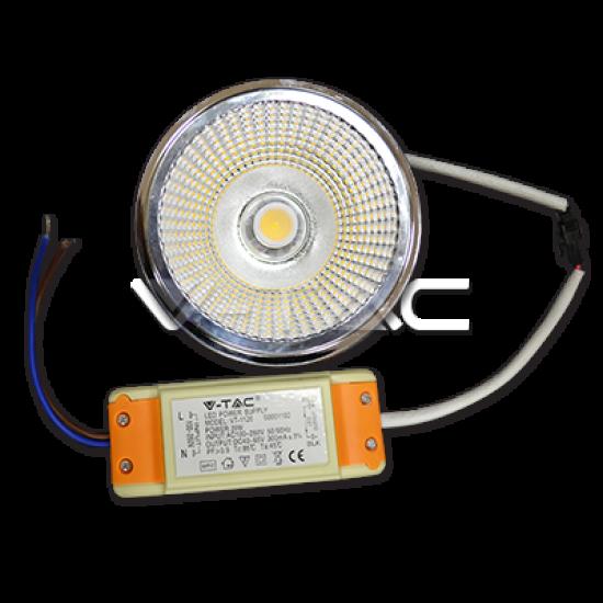 LED Крушка AR111 20W 230V 40° COB Chip 4500K