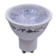 LED Крушка 7W GU10 Пластик С Лупа 6000K Димируема