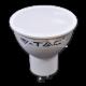 LED Крушка 7W GU10 Пластик 3000K Димируема