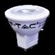LED Крушка 2W MR11 12V Пластик 6000K