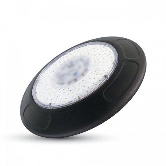 100W LED Камбана UFO Черен Корпус SMD 4500K