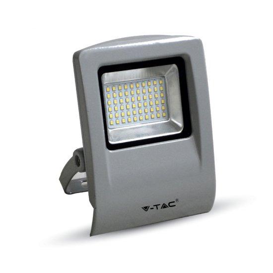 30W LED Прожектор SMD Сиво Тяло 6000K