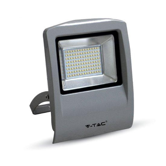 50W LED Прожектор SMD Сиво Тяло 6000K