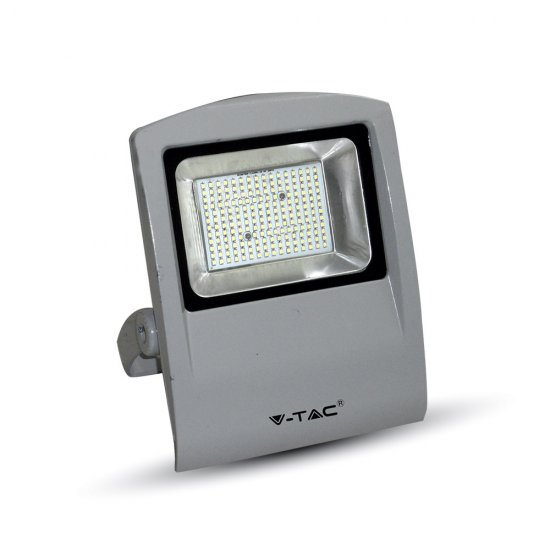 100W LED Прожектор SMD Сиво Тяло 4500K
