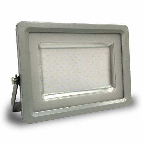 100W LED Прожектор SMD Черно/Сиво Тяло 3000K