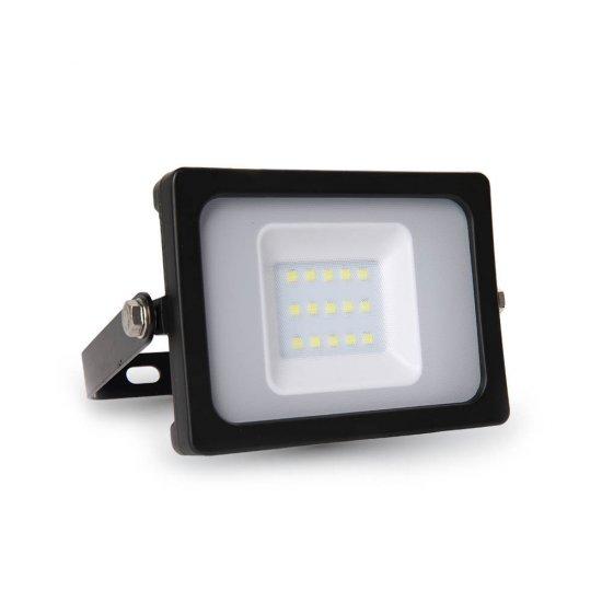 10W LED Прожектор SMD Черно Тяло 3000K