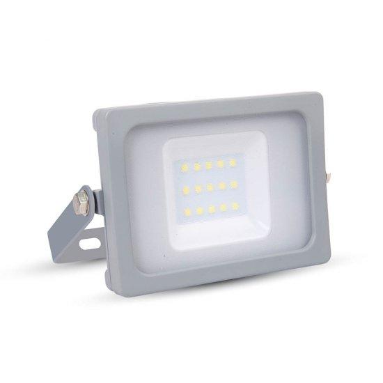 10W LED Прожектор SMD Сиво Тяло 4000K