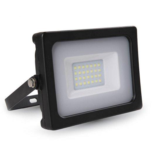 20W LED Прожектор SMD Черно Тяло 6000K