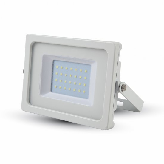 30W LED Прожектор SMD Бяло Тяло 3000K
