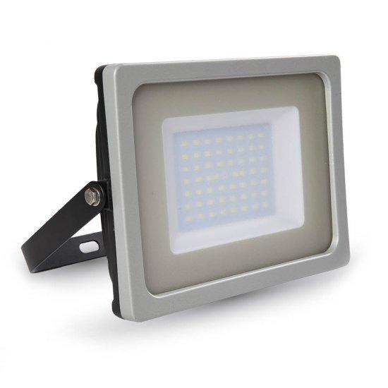 50W LED Прожектор SMD Бяло Тяло 3000K