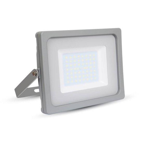 50W LED Прожектор SMD Сиво Тяло 4000K