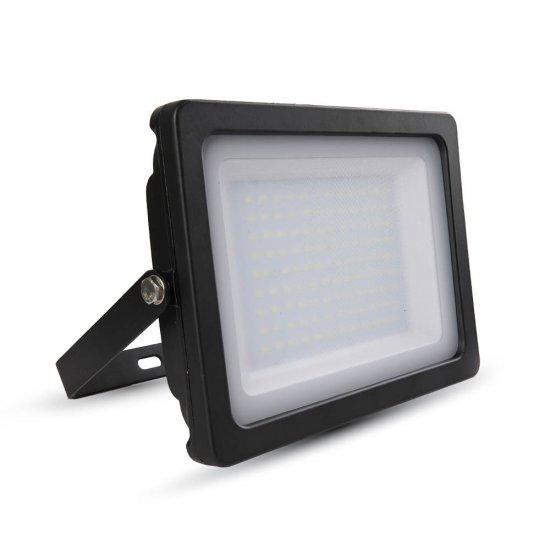 100W LED Прожектор SMD Черно Тяло 6400K