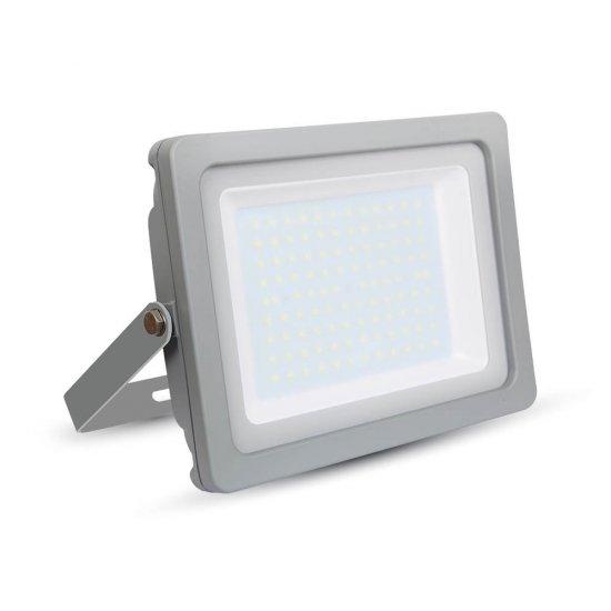 100W LED Прожектор SMD Сиво Тяло 3000K