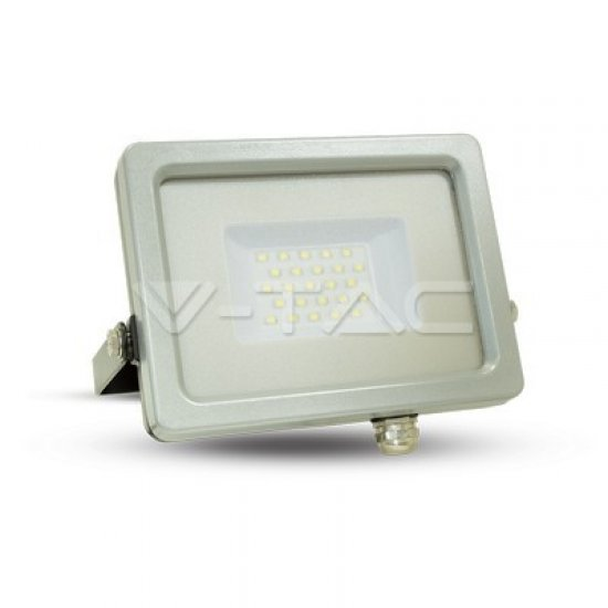 30W LED Прожектор SMD Черно/Сиво Тяло 6000K