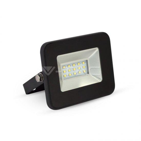 10W LED Прожектор SMD Черно Тяло 4500K