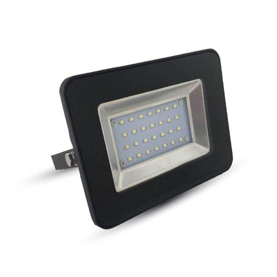 20W LED Прожектор SMD Черно Тяло 3000K