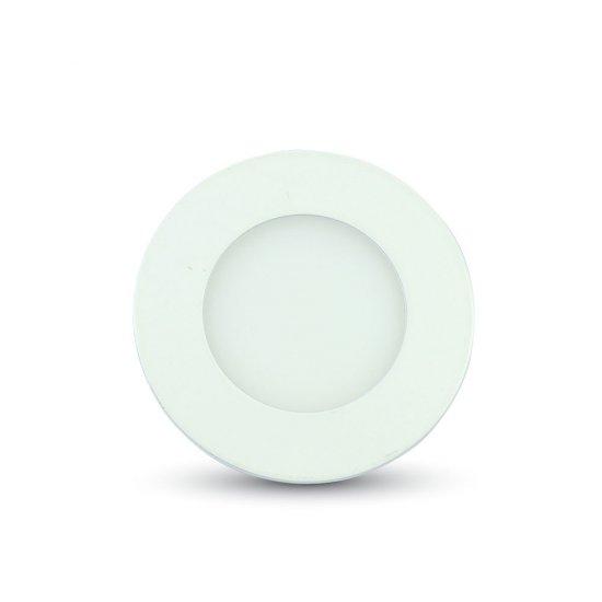 LED Premium Панел Кръг 3W 3000K Ф84мм