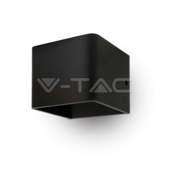5W Аплик Bridglux Chip Черно Тяло Квадрат 4000K