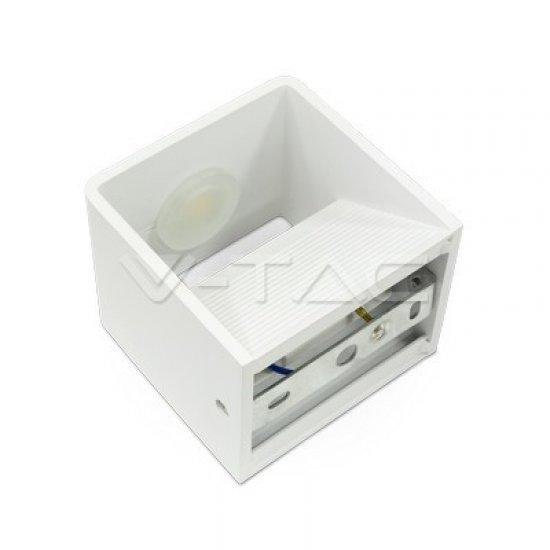 5W Аплик Bridglux Chip Бяло Тяло Квадрат 3000K