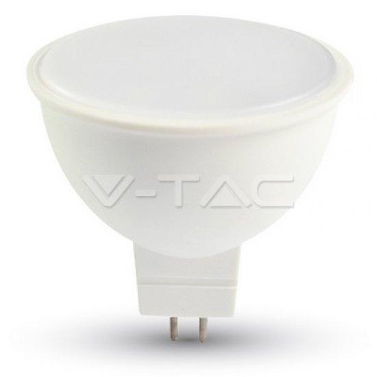 LED Крушка 7W MR16 12V SMD Пластик 6000К