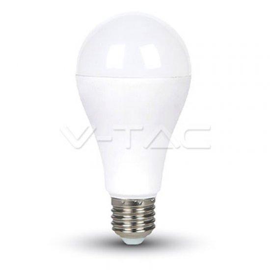 LED Крушка 15W E27 A65 Термо Пластик 4500K