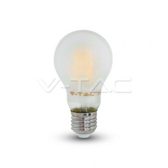 LED Крушка 7W E27 A60 Filament Матирана 4000K
