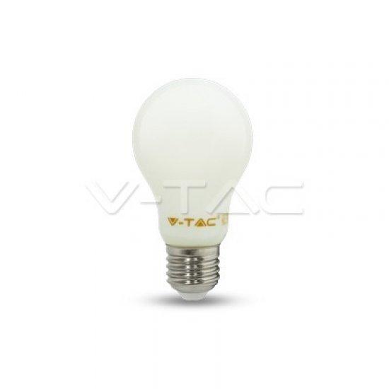 LED Крушка 4W E27 A60 Filament Бяла 4000K