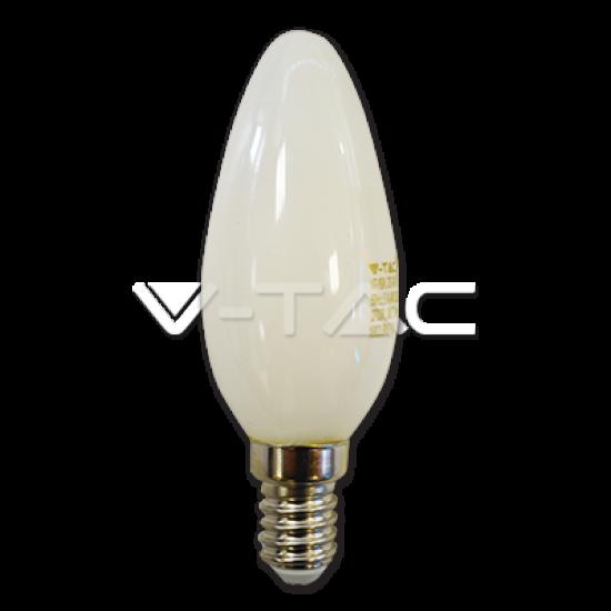 LED Крушка 4W E14 Свещ Пламък Бяла 4000K