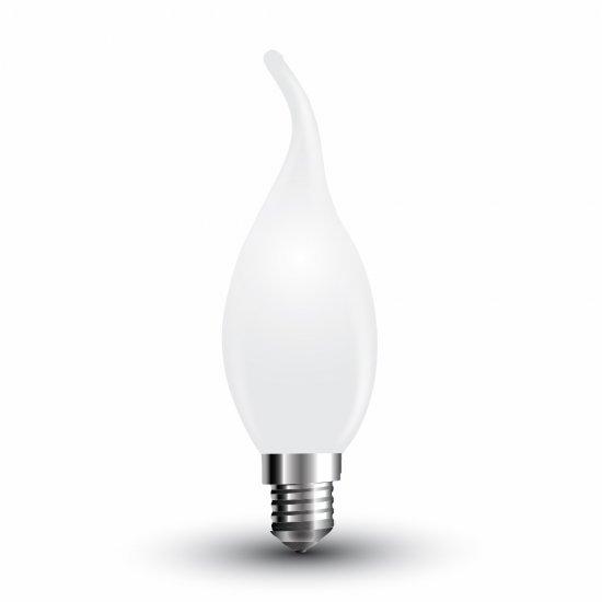 LED Крушка 4W E14 Свещ Спирала Матирана 2700K