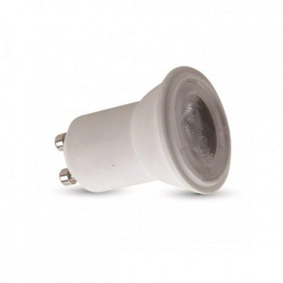 LED Крушка 2W GU10 220V SMD Пластик 6000К