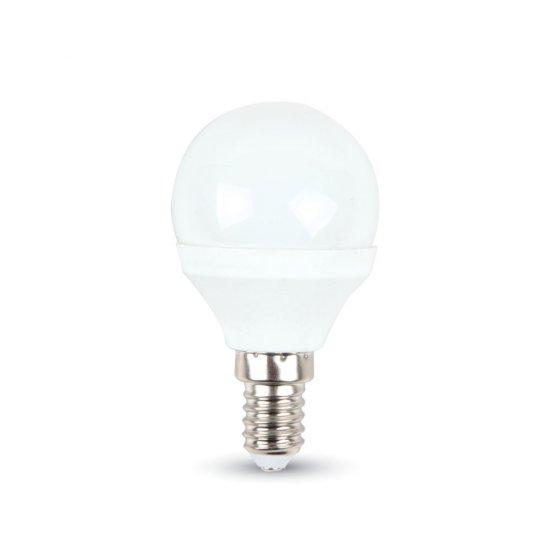 LED Крушка 3W E14 Сфера Термо Пластик 3000K