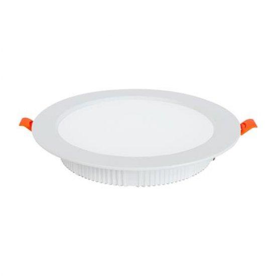 LED SMD луна ALEXA 30W 4200К кръгла бяла 2250Lm