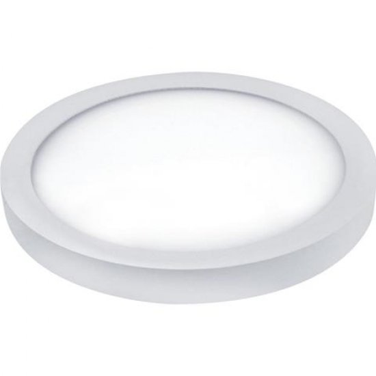 LED Панел 28W 220V кръг 6400K бял Ф28.7см 1960Lm открит монтаж