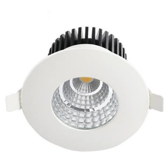LED Луна влагозащитена 6W 4200K бяла IP65 410Lm