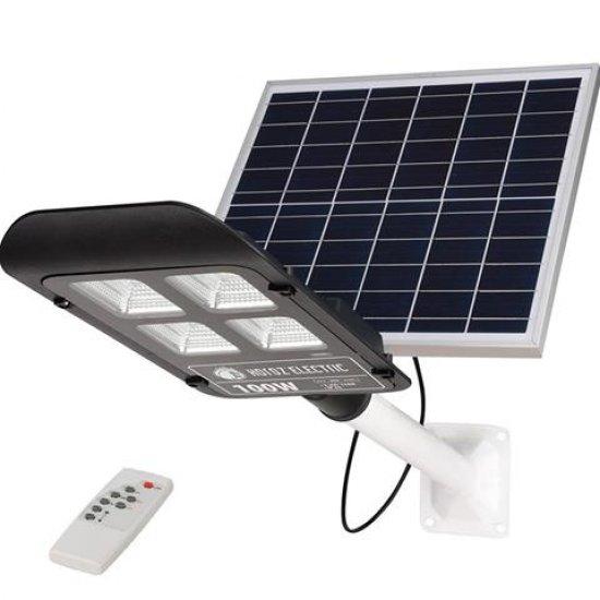 LED соларно улично тяло 100W 6400K IP65