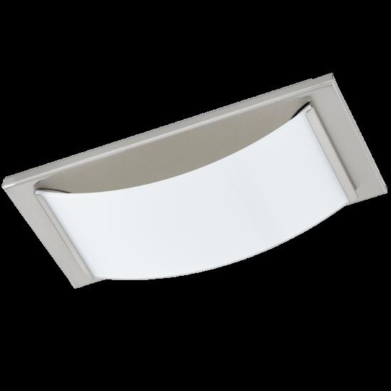 LED Плафон-Аплик за баня WASАO 5.4W IP44 сатен-никел